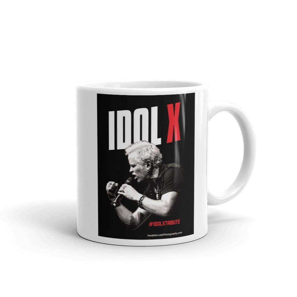IDOL X Mug! Billy Idol Tribute!-Mugs - Coffee Mugs-HRH Studio Boutique
