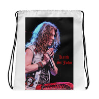KEITH ST JOHN Drawstring bag!-Drawstring Bag-HRH Studio Boutique