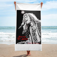 KEITH ST JOHN Towel-Towel - Beach Towel-HRH Studio Boutique