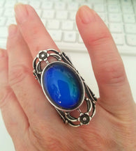 Mood Ring - Scalloped stunning piece-RING-HRH Studio Boutique