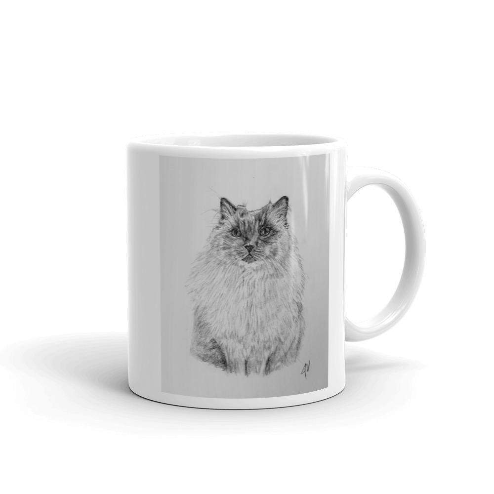Mug - CAT - Coffee Cat-Mugs - Coffee Mugs-HRH Studio Boutique