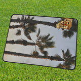 Palm Trees Portable & Foldable Mat 60''x78''-Portable & Foldable Mat 60''x78''-HRH Studio Boutique