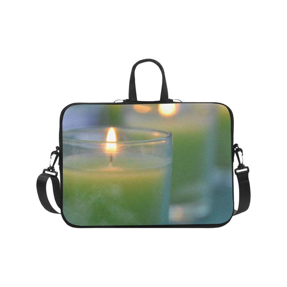 "Peace candles Laptop Handbags 17""-Laptop Handbags 17""-HRH Studio Boutique"