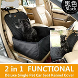 Pet Car Seat/Cover - For DOG, CAT & MORE! *FREE SHIPPING in the USA.-PET Seat Cover-HRH Studio Boutique