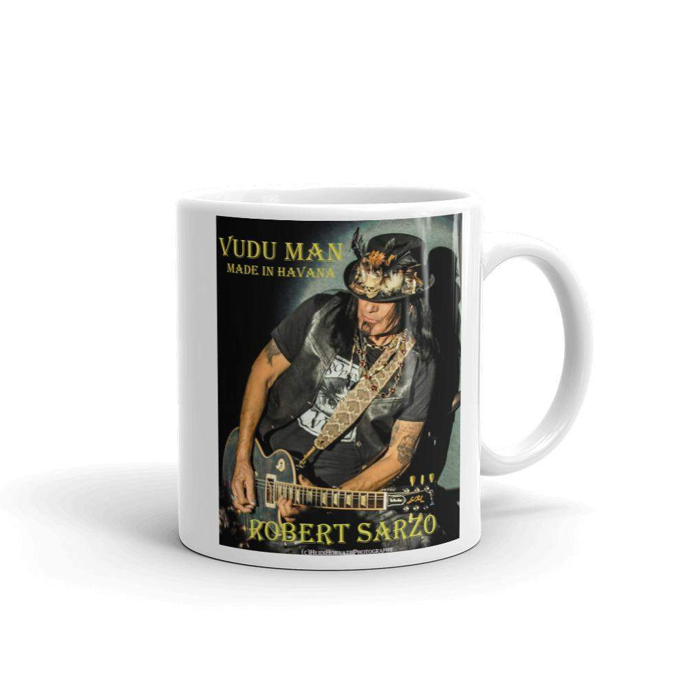 ROBERT SARZO Mug! The VuDu Man Made in Havana (yellow) photo *FREE Shipping to states!-Mugs - Coffee Mugs-HRH Studio Boutique