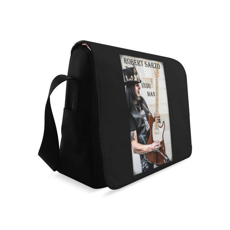 ROBERT SARZO - RAWK ME - VuDu Man Messenger Bag (Model 1628) Messenger Bags (1628)- HRH Studio Boutique