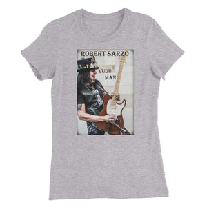 ROBERT SARZO VuDu Man - Guitarist -Women's Slim Fit T-Shirt - RAWK Photo-T Shirt-HRH Studio Boutique