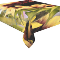 Sunflower Tablecloth Cotton Linen Tablecloth 52