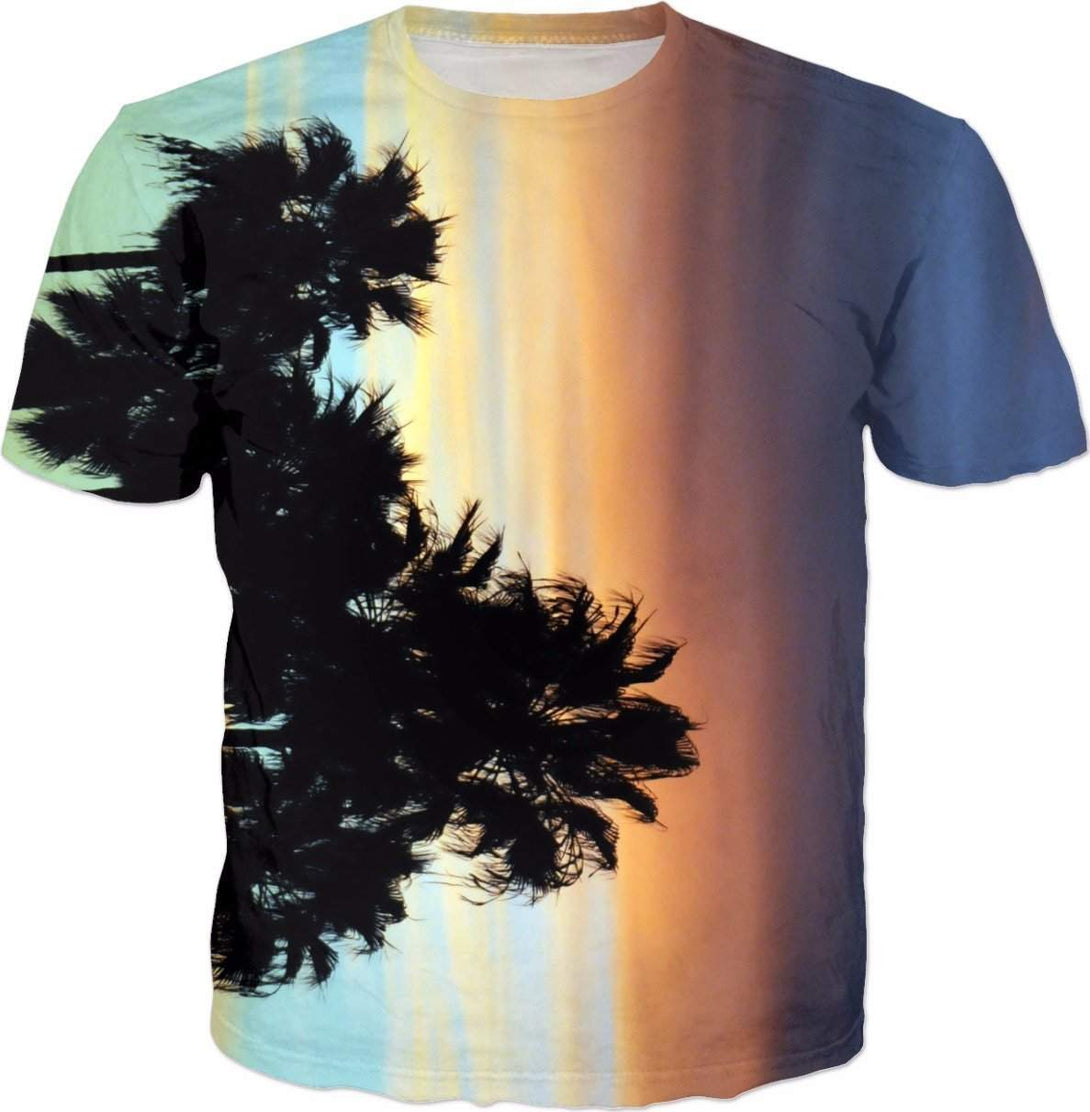 Sunset Palms-T-Shirts-HRH Studio Boutique