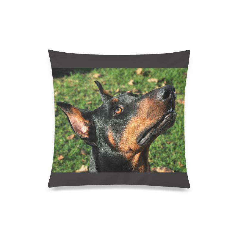 The Doberman - Custom Zippered Pillow Case 20