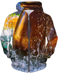 Waterfall Groove-Hoodies-HRH Studio Boutique