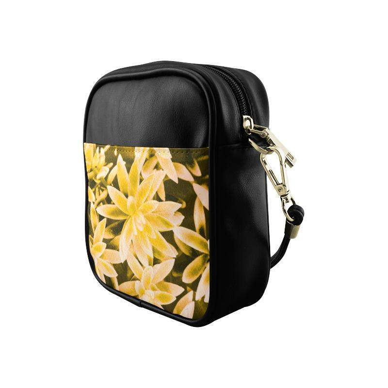 Yellow Happy Sling Bag (Model 1627)-Sling Bags (1627)-HRH Studio Boutique