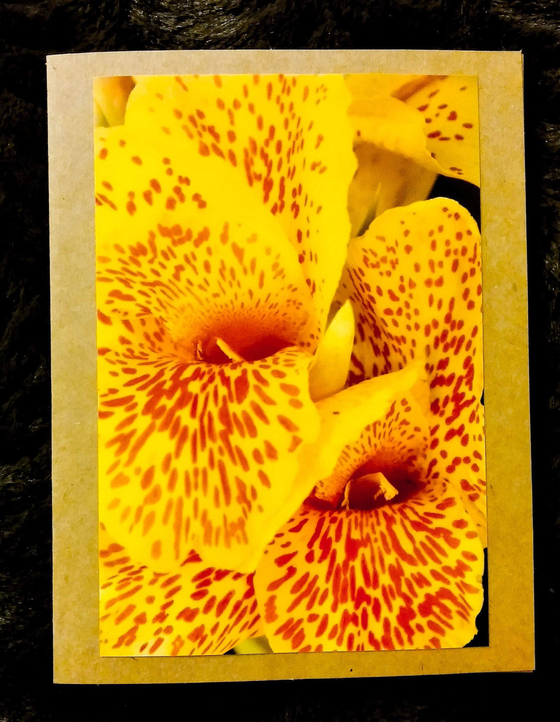 Yellow Snapdragon Card-Greeting Cards/Prints-HRH Studio Boutique