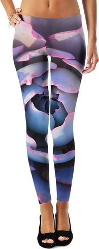 YOGA ZEN Leggings - Purple fun!-Yoga Pants-HRH Studio Boutique