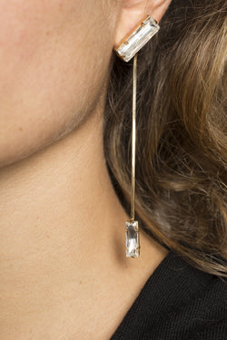 Baguette Earrings