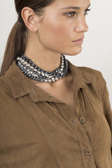Charmer necklace black