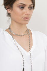 Deb necklace silver