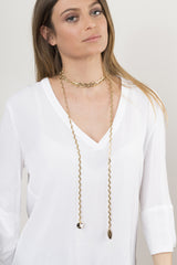 Deb necklace gold