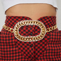Charliz strass Belt