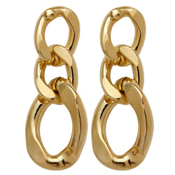Flat Ring earrings