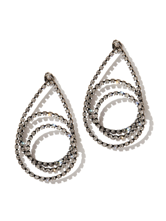 Tear earrings