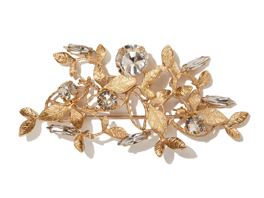 Diamond Forest Brooch