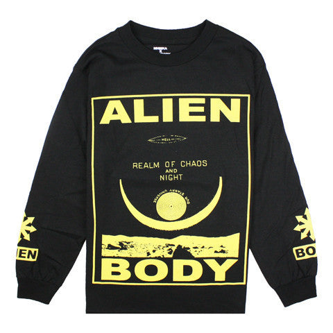 Mishka Alien Body Front