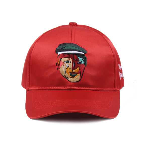 MADE BY PAVLO INSPIRED BY PICASSO CAP (RED SATIN)