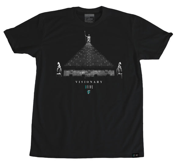 9FIVE Pyramid Tee BLK