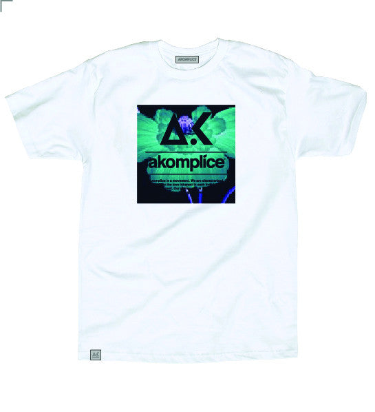 Akomplice Bright Poppy Tee