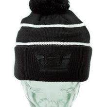 Load image into Gallery viewer, Supra Black Title Beanie