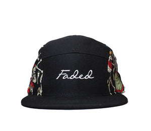 Faded Royalty <br> Dancing Dead 5 Panel Strapback