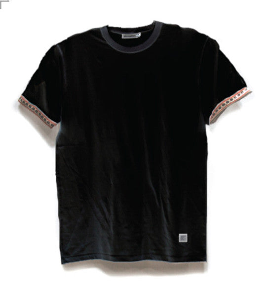 Akomplice Egyptian Tee in Black Front