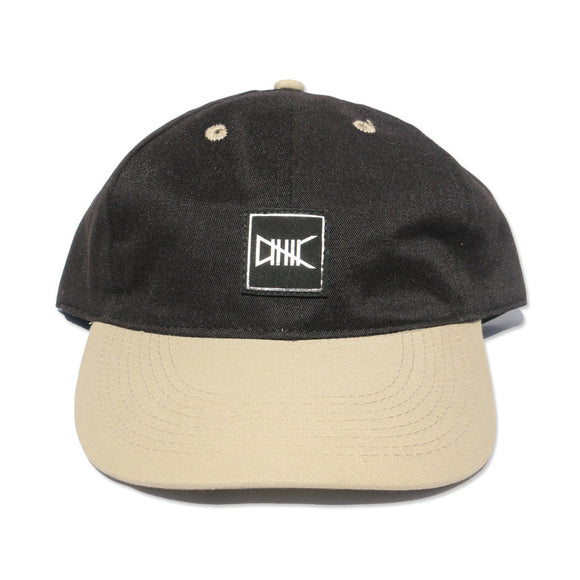 Ethik Dad Cap in Khaki and Black