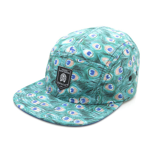 The Absinthe Peacock 5 Panel Camper by RASTACLAT