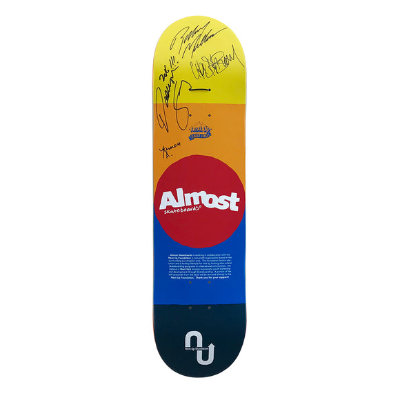 Next Up Foundation x Almost skateboards