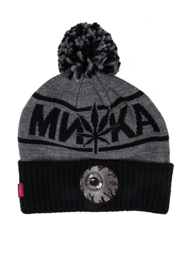 The Sativa Keep Watch Pom Beanie by MISHKA