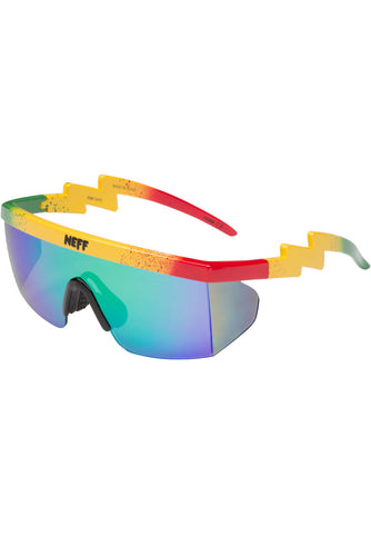 NEFF Brodie Shades in Rasta