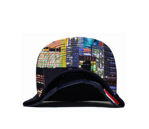 Faded Royalty <br> NY Skyline Snapback