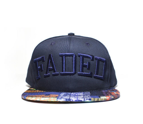 Faded Royalty NY SKYLINE SNAPBACK
