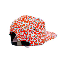 Load image into Gallery viewer, Faded Royalty <br> Tangerine Cheetah 5 Panel