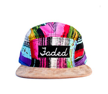 Load image into Gallery viewer, Faded Royalty <br> Paint Streak Suede 5 Panel
