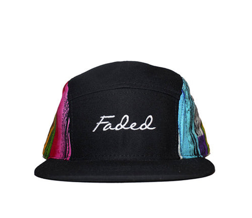 Faded Royalty <br> Paint Streak 5 Panel Strapback