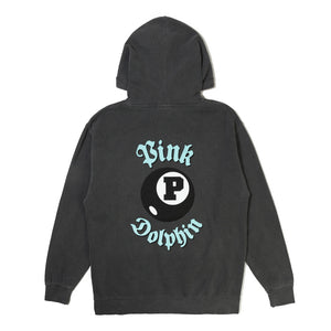 Pink Dolphin 8 Ball Hoodie Back