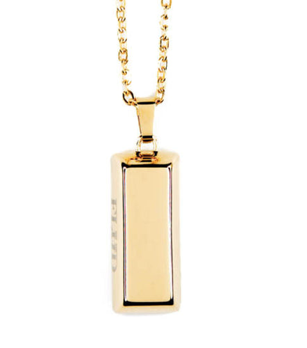 FLUD Gold Bar Necklace