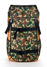 Load image into Gallery viewer, FLUD TECH BAG - FOREST CAMO FRONT