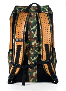 FLUD TECH BAG - FOREST CAMO BACK