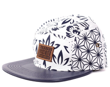Load image into Gallery viewer, RockSmith <br> Fuji Bandana 5 Panel ~Indigo