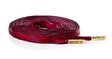 Rastaclat Oval Red Asphalt Shoelace