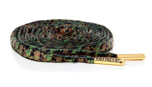 Rastaclat Oval Forest Camo Shoelace